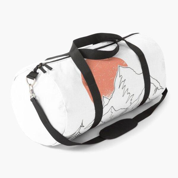 CONTINUOUS LINE LANDSCAPE  Duffle Bag