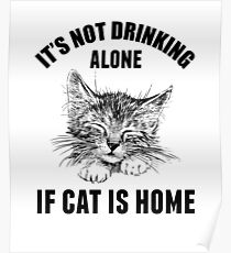 Not drinking alone Poster
