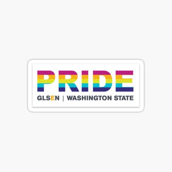 PRIDE GLSEN Washington State Sticker
