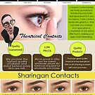 Theatrical Contacts by colorcontacts