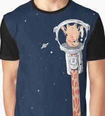 Camiseta gráfica Recorrido por el universo