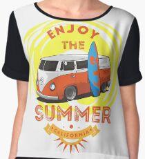 Enjoy The Summer Chiffon Top