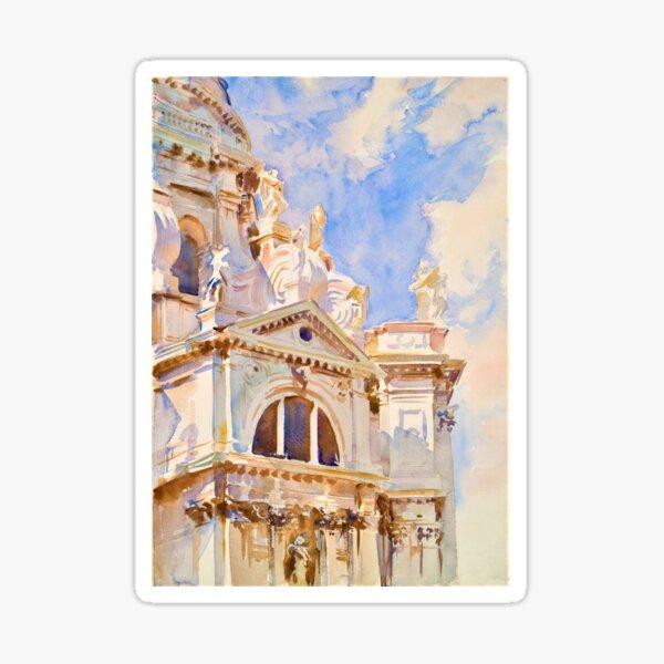 Venice, The Salute, c1904-07 Painting, John Singer Sargent Sticker