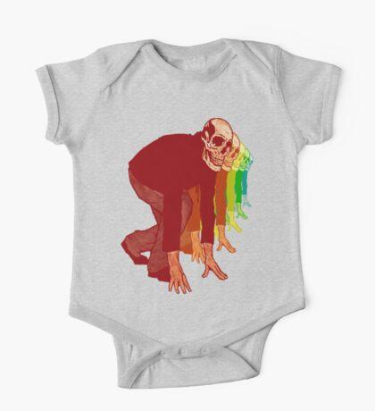 Racing Rainbow Skeletons Kids Clothes