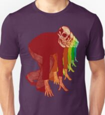 Racing Rainbow Skeletons Slim Fit T-Shirt