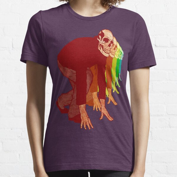 Racing Rainbow Skeletons Essential T-Shirt