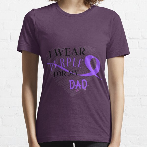 Copy of I Wear Purple For My Dad Essential T-Shirt