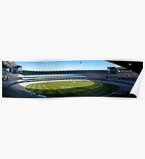 Panorama of the Melbourne Cricket Ground Poster