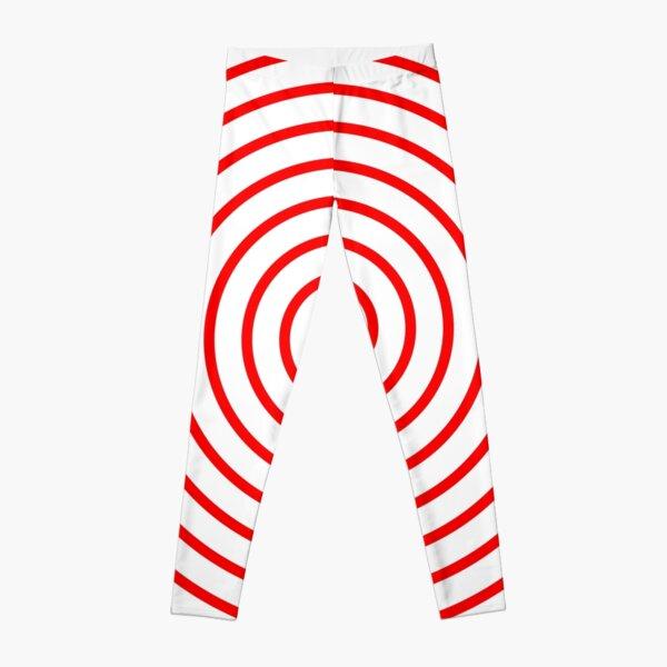 Red Spiral Leggings