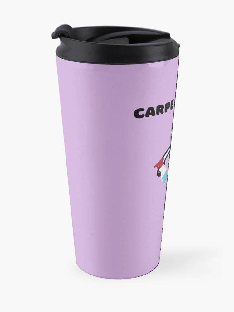 Alternate view of Carpe Clean em Spray Bottle Broom Cleaning Gifts Travel Mug