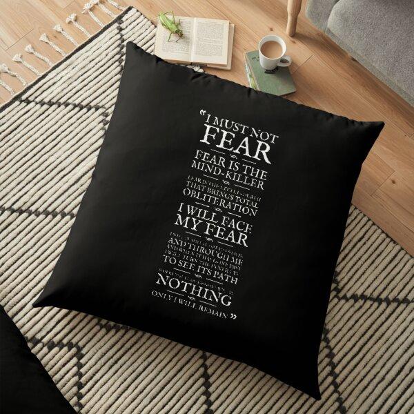 Litany-Against-Fear Floor Pillow