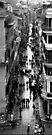 Rom, Blick von der Spanischen Treppe von Marianna Tankelevich