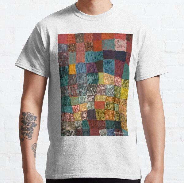 Dot Patchwork Landscape Classic T-Shirt