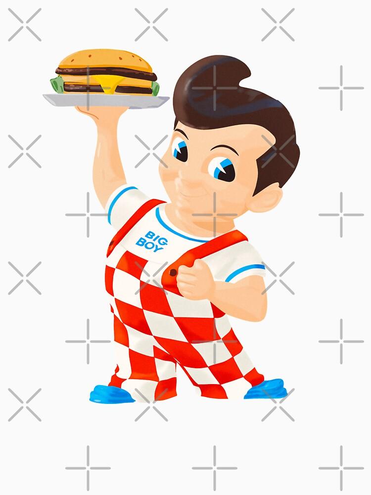 Bob's Big boy burger  by MimieTrouvetou