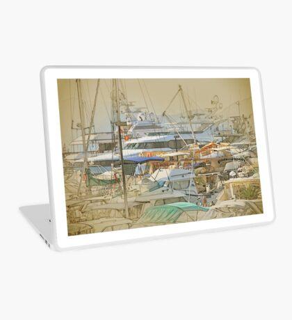 Boat harbour  Laptop Skin