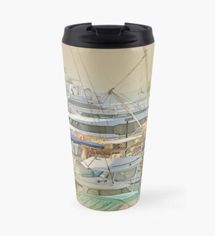 Boat harbour  Travel Mug