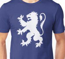 White Lion Rampant Unisex T-Shirt