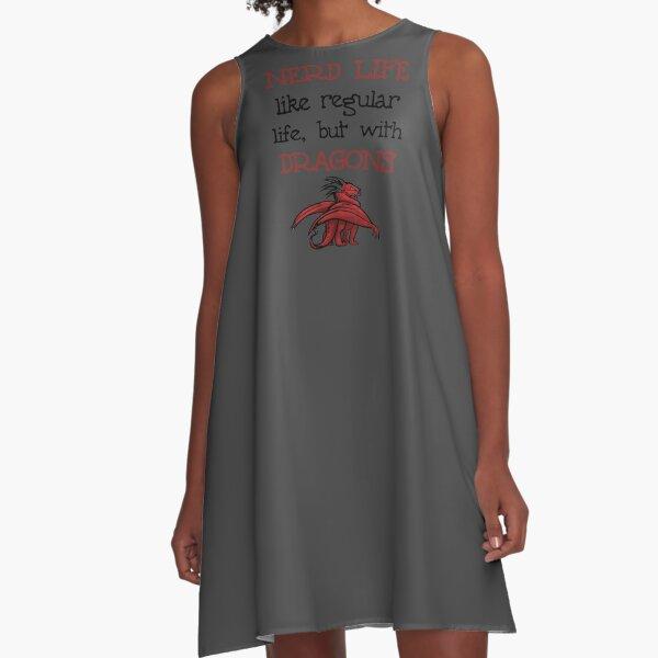 Nerd Life A-Line Dress