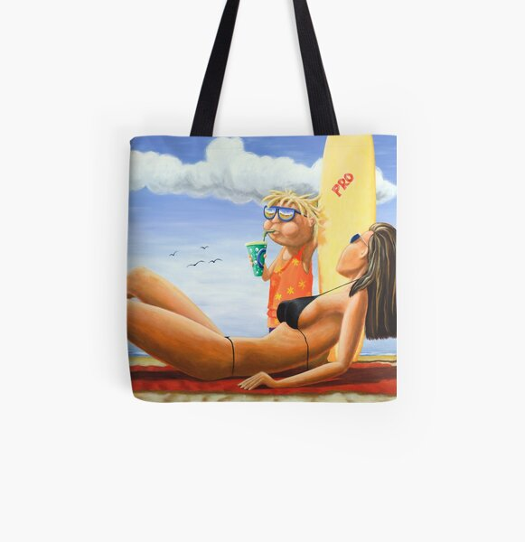 Pro Surf Grom All Over Print Tote Bag