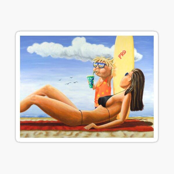 Pro Surf Grom Sticker
