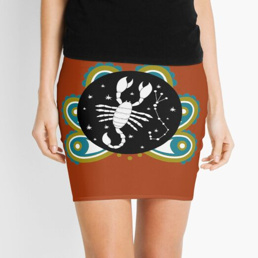 Scorpio as another Zodiac Sign  Mini Skirt