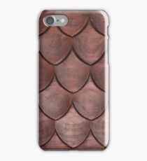 Scaled Wooden Texture iPhone Case/Skin