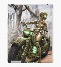 Cyberpunk Painting 023 iPad Case/Skin