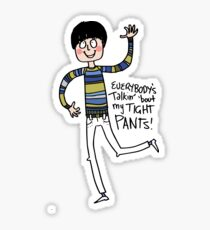Tight Pants - cartoon Sticker