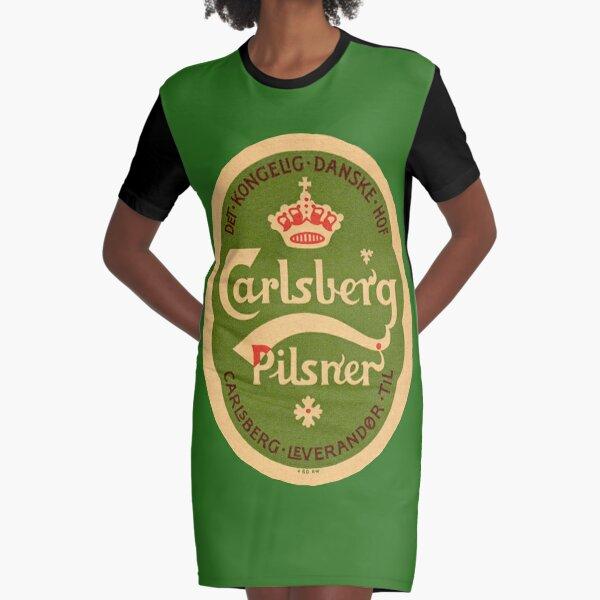 Carlsberg Pilsner Graphic T-Shirt Dress