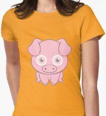 miss piggy Womens Fitted T-Shirt