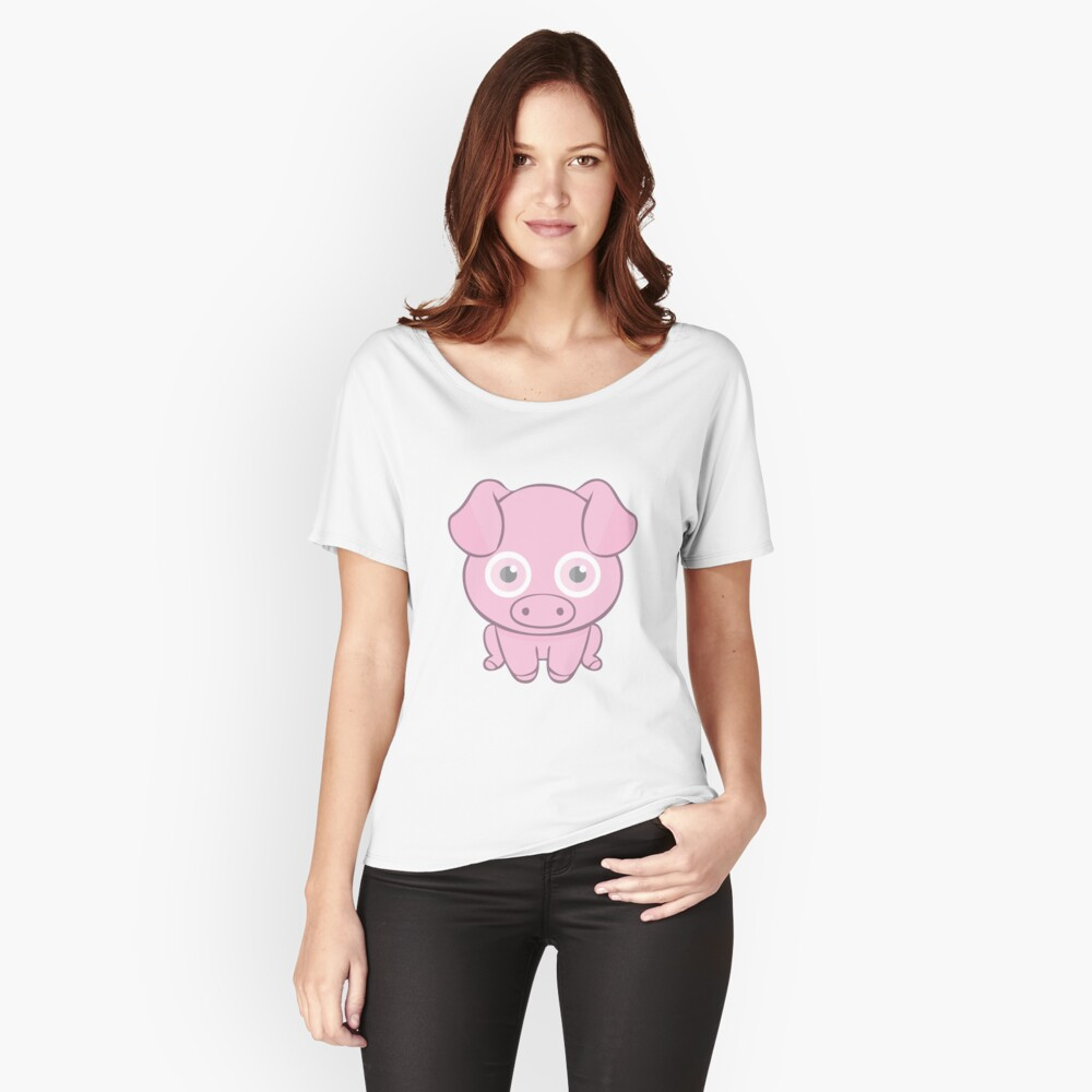 miss piggy Women's Relaxed Fit T-Shirt Front