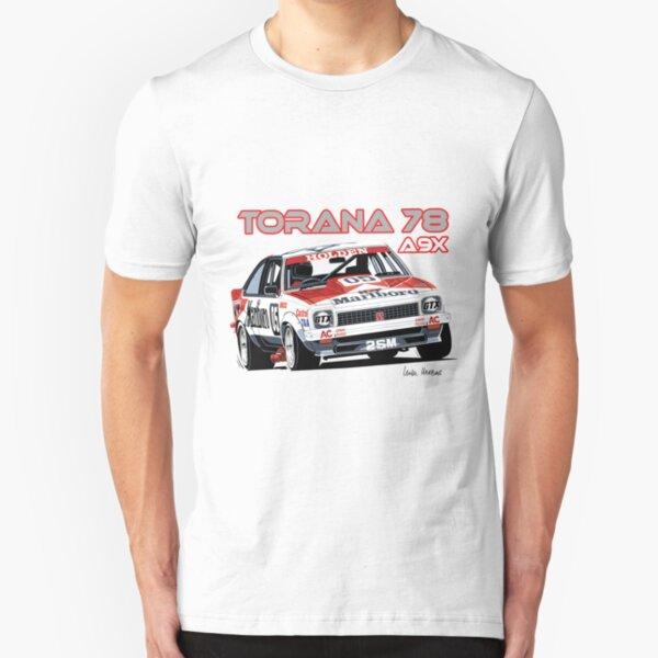 HOLDEN  LX SS  A9X  TORANA HATCH BACK  WHITE TSHIRT 6 CAR COLOURS BIG FIT