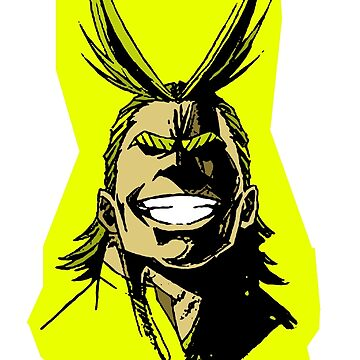 All Might - My Hero Academia by CMOsimon