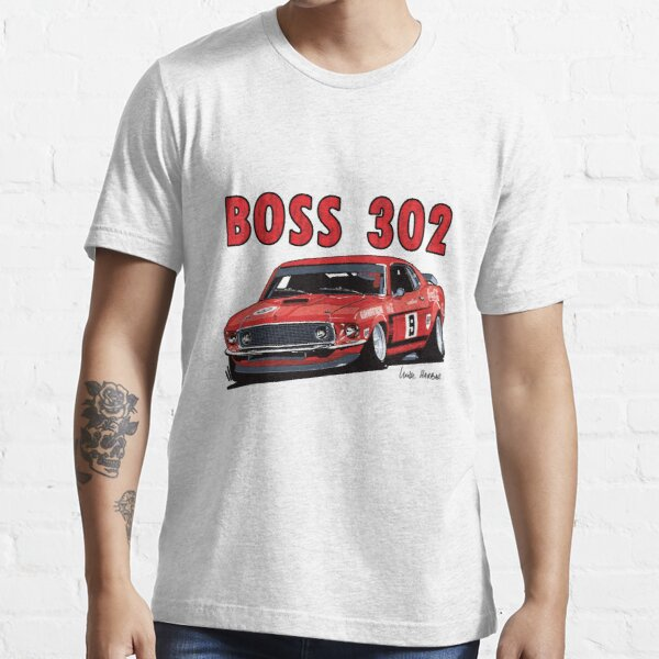 Ford 302 Boss Mustang Design Essential T-Shirt