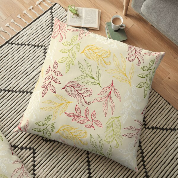 Summer Dancing Floor Pillow