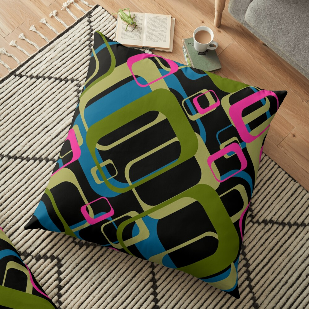 Disco Vibes Floor Pillow