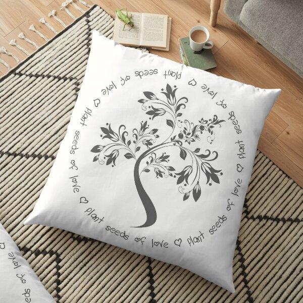 Seeds of LOVE Floor Pillow