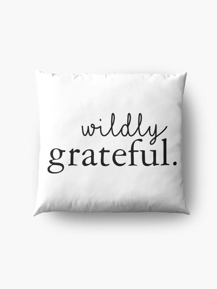 Alternate view of Wildly Grateful Floor Pillow