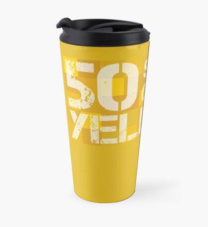 50 Shades of Yellow Travel Mug