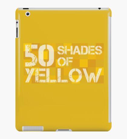 50 Shades of Yellow iPad Case/Skin