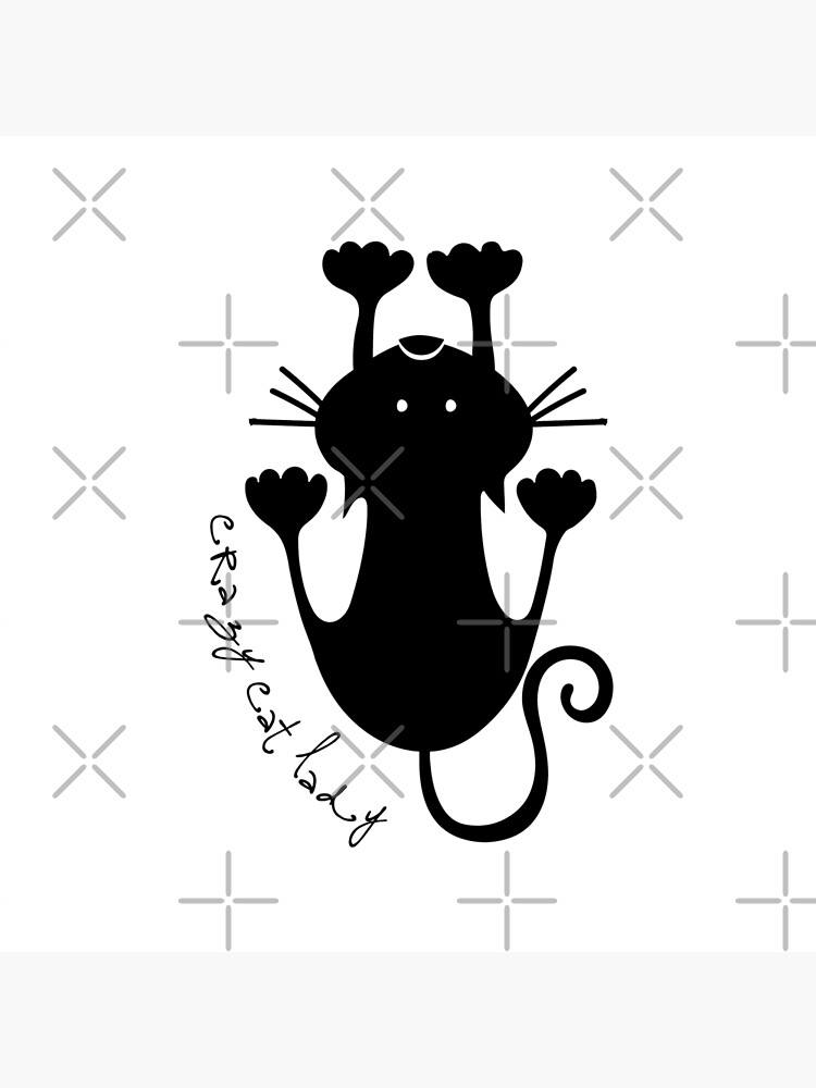Crazy Cat Lady by MyMadMerch