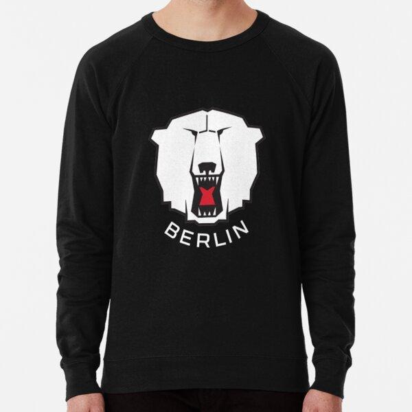 Berliner Bärenlogo, Eisbären Berliner Logo Deutsche Eishockerei Leichter Pullover