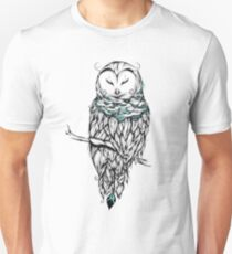 Poetic Snow Owl  Unisex T-Shirt
