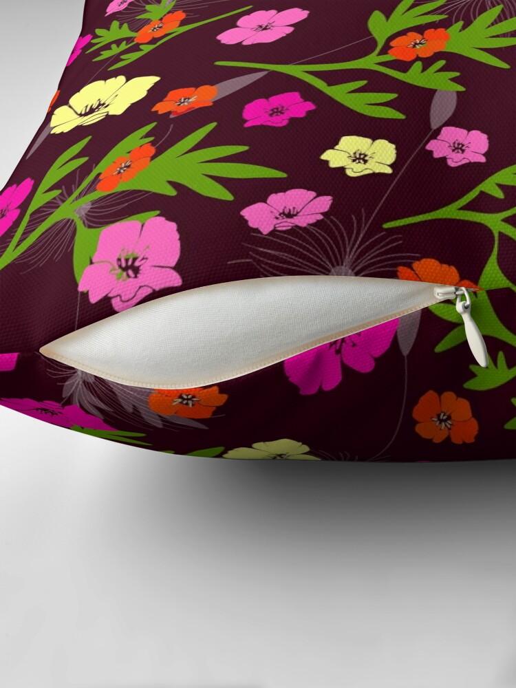 Alternate view of Wild Garden Floor Pillow