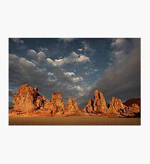 Hot Rocks Photographic Print
