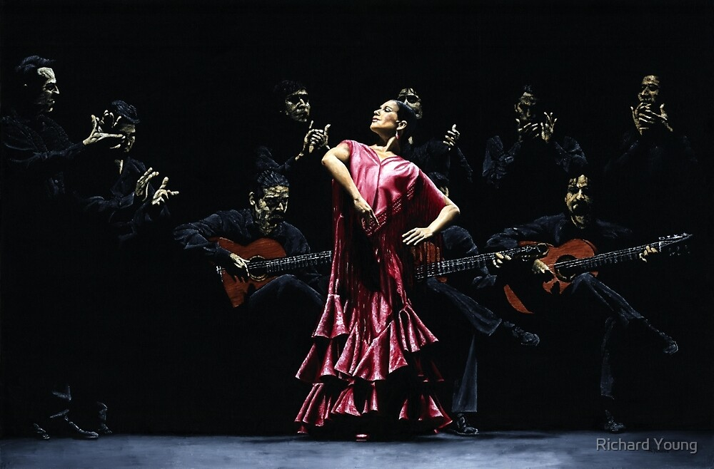 Bailarina Orgullosa del Flamenco by Richard Young