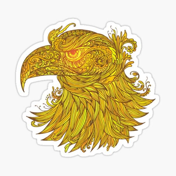 Golden Egle Sticker