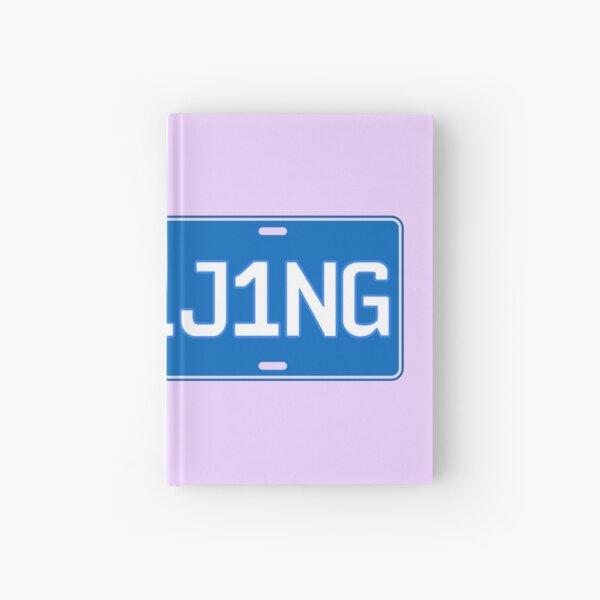 Beijing car license plate Hardcover Journal
