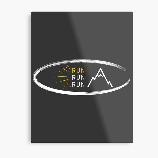 Run, Run, Run Metal Print
