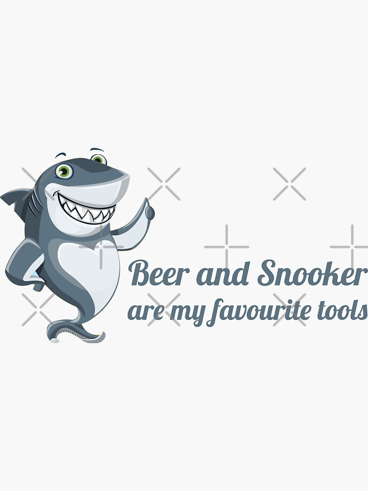 Beer and snooker are my favourite tools by snookerprint